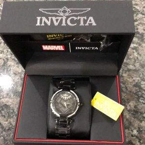 Invicta Women's Marvel Black Panthers Watch NWT